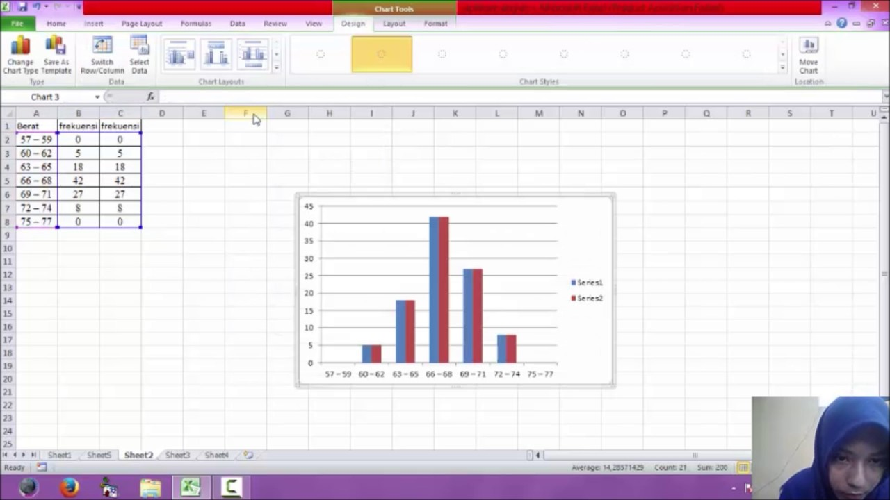 Cara membuat histogram dan poligon di excel 2010 youtube cara membuat histogram dan poligon di excel 2010 ccuart Image collections