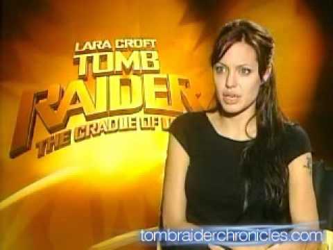 Lara Croft Tomb Raider: The Cradle Of Life Movie - Angelina Jolie Interview