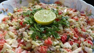 Healthy Veg Salad Recipe   SP KITCHEN   healthy ,easy & fast recipe