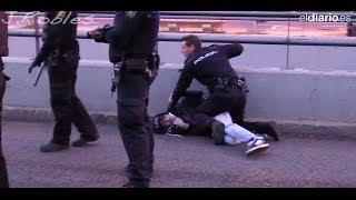 Huelga en la Universidad Complutense (más de 50 detenidos). 26marzo2014