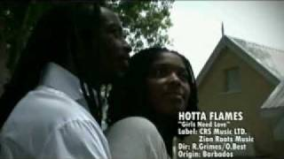 Hotta Flames - Girls Need Love (Official Music Video)