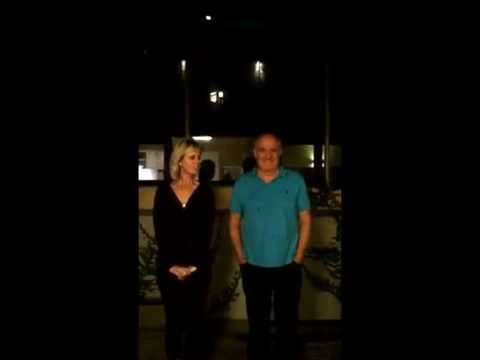 Rick Stein's and Sarah Stein's ALS Ice Bucket Challenge