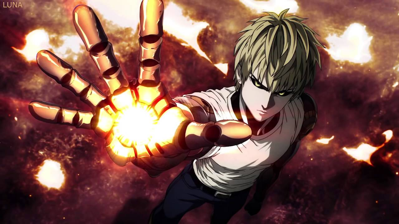 All Anime In One Wallpaper One Punch Man Ost Genos Sound Fight Music Youtube