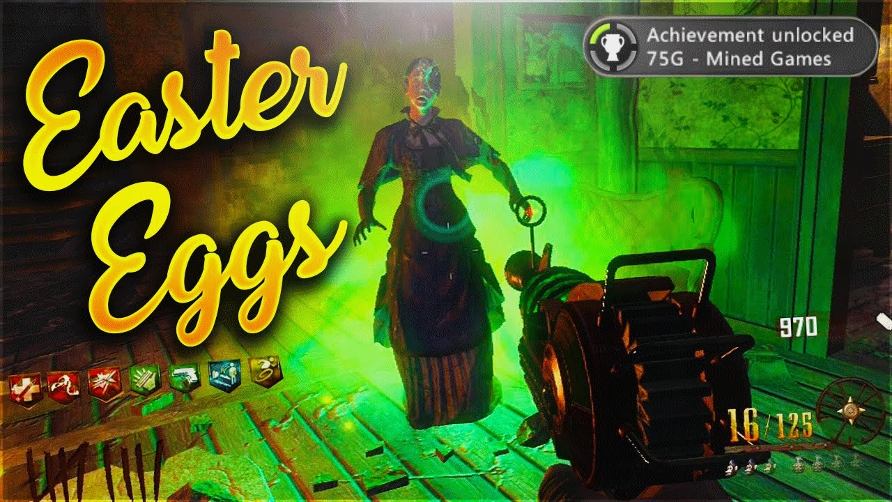 Top 10 Easter Eggs in Call of Duty Zombies! - Call of Duty WaW-BO3 ZOmbies  Easter Eggs!