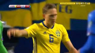 İsveç 1-0 İtalya Dünya Kupası Play Off Maç Özeti 10Kasım 2017