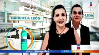 La mexicana que podra salvar al mundo | Noticias con Zea Gabriela Len cre una mole'cula capaz de frenar pandemias y eliminar bacterias. Despue's de que su hijo contrajo un virus decidi fundar 'Gresmex' y ...
