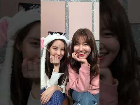 181203 Sooyoung IG Live (w/ Seohyun)