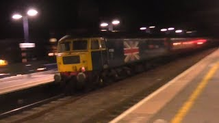Late Evening Trains at Maidenhead, GWML - 02/05/18
