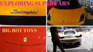 BIG BOY TOYS STUDIO | BBT | EXPLORING SUPERCARS | NEW AND SECOND HAND | CARS ON RENT | DELHI