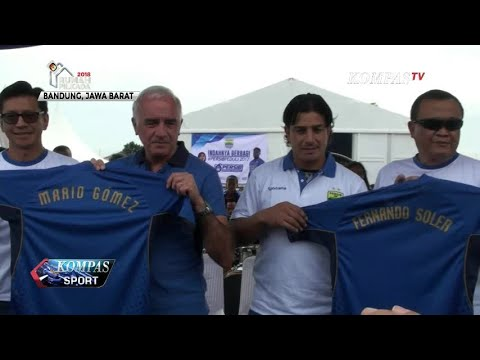 Persib Perkenalkan Mario Gomez sebagai Pelatih Baru