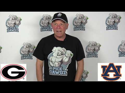 Auburn vs Georgia 11/16/19 Free CFB Pick and Prediction Week 12 College Football Tips