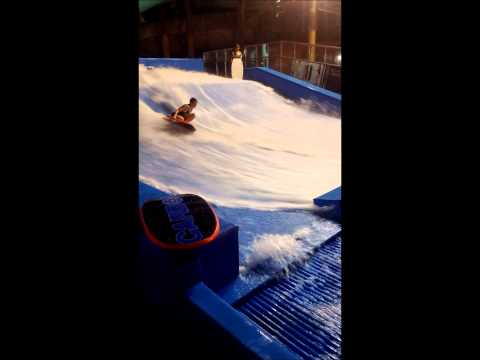 Flowboarding in Wildwood