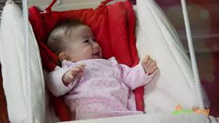 Beto hojdačka pre bábätká z kolekcie folk- Ecobaby Sk