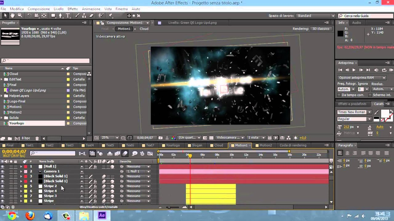 adobe after effects  crack ita