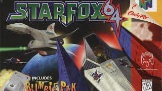 Star Fox 64 Gameplay (Wii U Virtual Console)