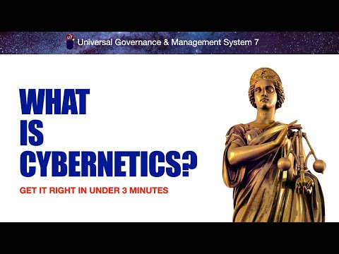 What is CYBERNETICS? (2016 ver.) Get it right in under 3 min.
