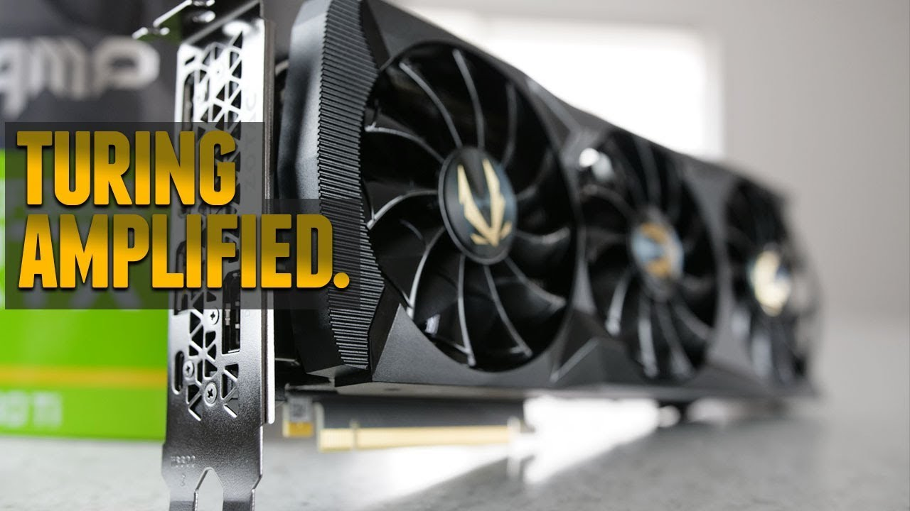 Zotac Gaming Rtx 2080 Ti Amp Review Youtube