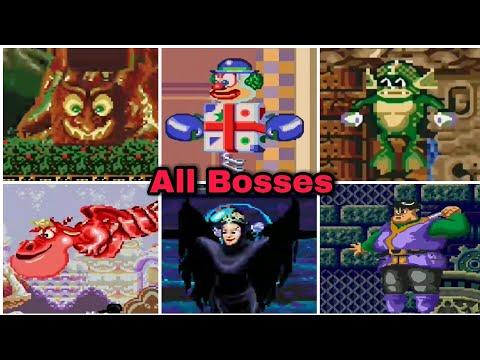 Castle Of Illusion - All Bosses (No Damage) |
