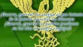 Himno Nacional Mexicano cantado versión 4 estrofas