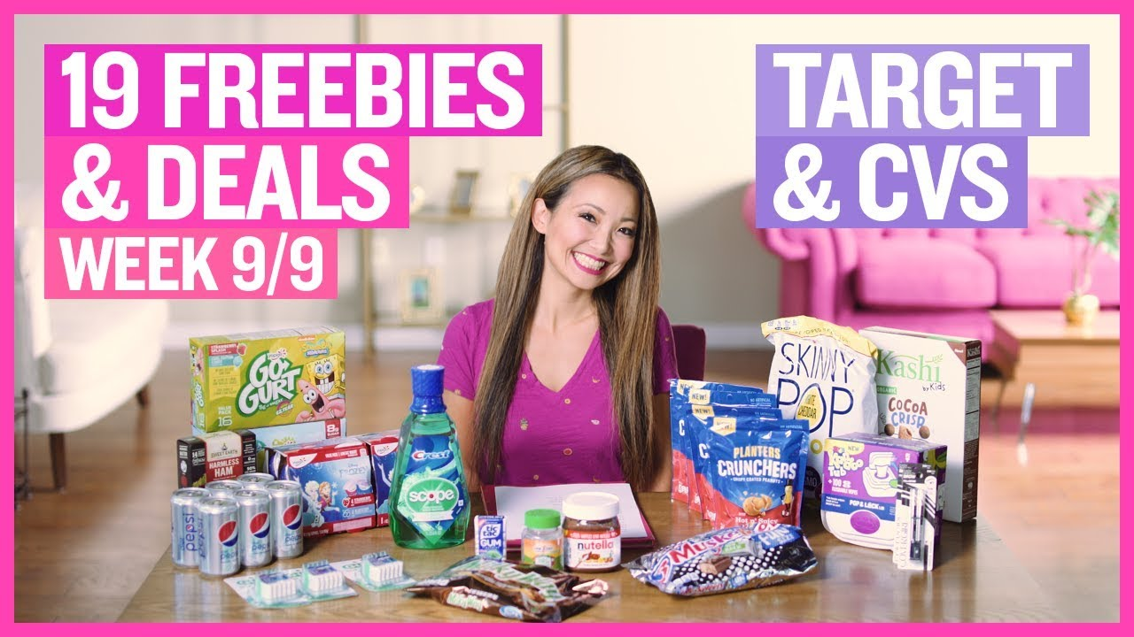 90 Off Clearance 17 Freebies Deals Target Cvs Couponing