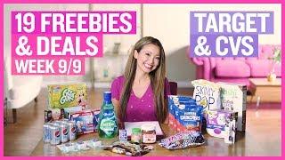 ★ 90% Off Clearance + 17 Freebies & Deals Target & CVS Couponing (Week 9/9 – 9/15)