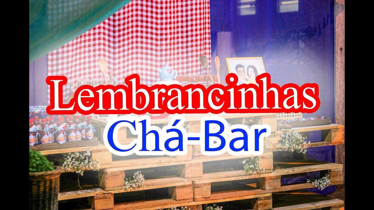 Idéias De Lembrancinha Para Chá Bar Rústico Youtube