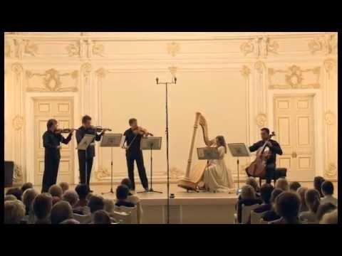 Kiprsky Eduard  Concertino for Harp and String Quartet