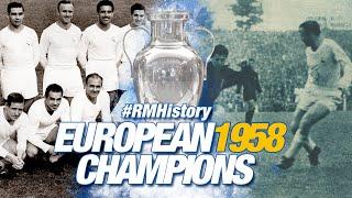 3rd European Cup, 1958: Real Madrid 3-2 AC Milan