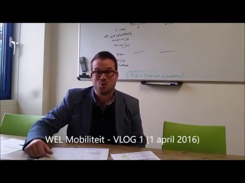 WEL Mobiliteit, Video/Vlog 1: TCO (Total Cost of Ownership)