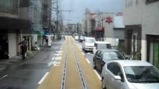 江ノ島電鉄 江ノ島~腰越間 前面展望 ~運転士の大変さを感じる一本~ thumbnail