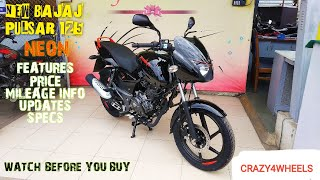 NEW BAJAJ PULSAR 125 | FEATURES | PRICE | ENGINE | MILEAGE