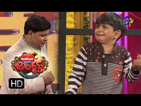 BulletBhaskarSunamiSudhakarPerformance | Jabardasth | 6th October2016 | ETV Telugu