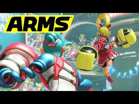 ARMS Online Party Mode With Viewers!