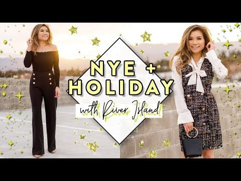 New Year's Eve & Holiday Party Wear Outfit Ideas with River Island | Miss Louie
