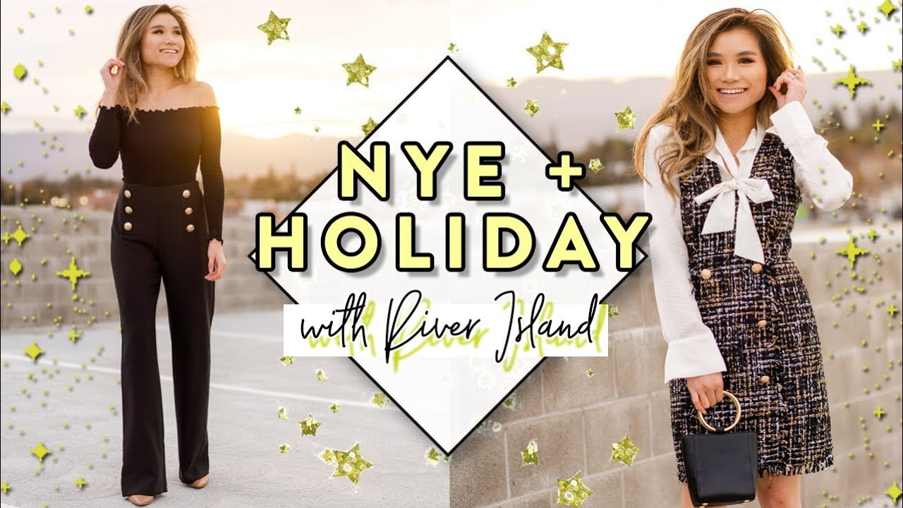 c50e0df871e8 New Year's Eve & Holiday Party Wear Outfit Ideas with River Island | Miss  Louie