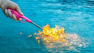 Fire On Water - जादुई पत्थर ने पानी में लगाई आग