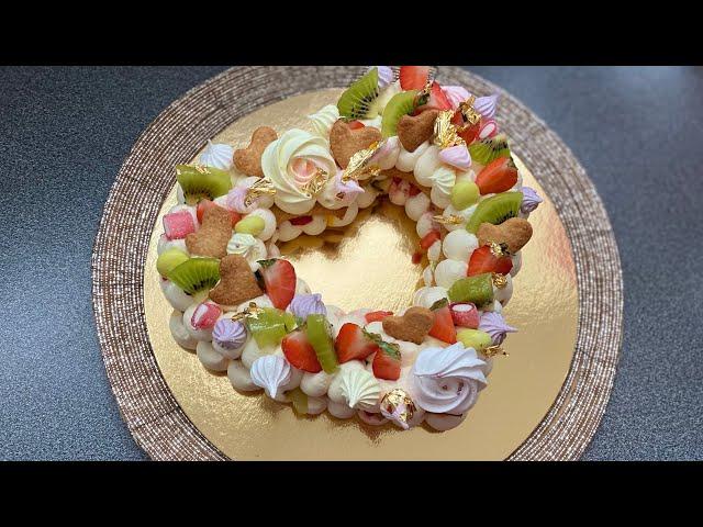 Numbercake/lettercake/heartcake