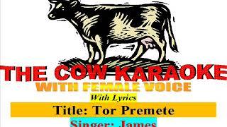 TOR PREMETE ONDHO HOLAM | তোর প্রেমেতে অন্ধ হলাম |– JAMES | SATTA BENGALI Full Karaoke