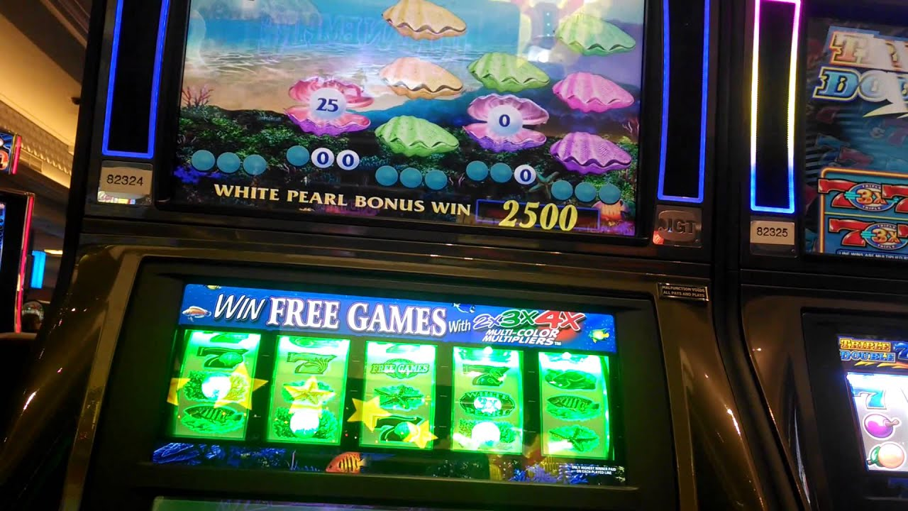 Bonus win slot machine