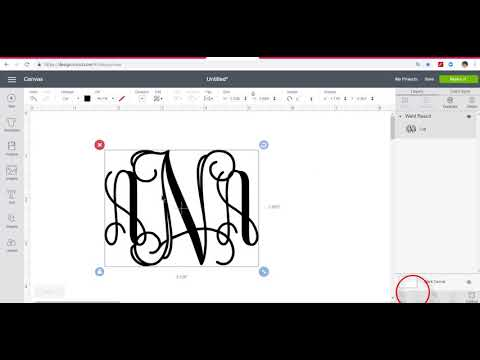 Beautiful Monograms Using The FREE Vine Font