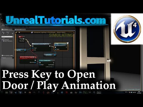 Ue4 tutorial press button to open door play animation youtube ue4 tutorial press button to open door play animation malvernweather Choice Image