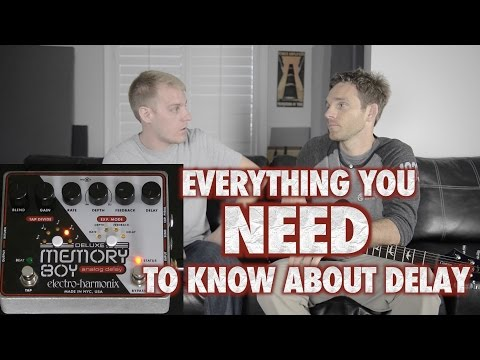Everything You Need to Know About Delay Pedals