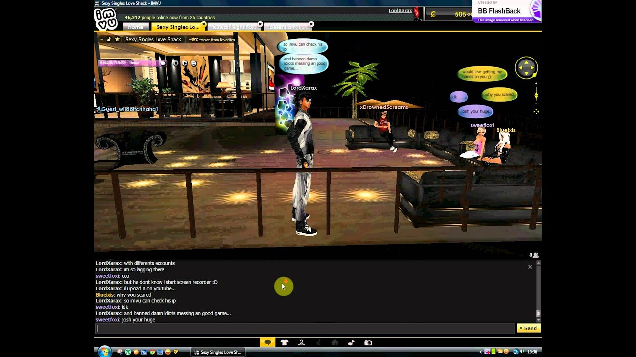 how to make a room in imvu mobile