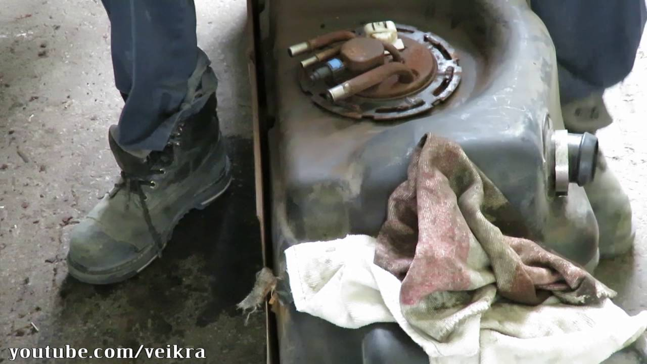 P1093 Fuel Tank Removal Inspection Fuel Line Replacement