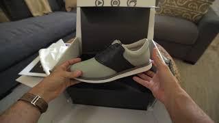 Unboxing the Coolest Men's Golf Shoes Ever - Jack Grace Shoes w/ Saddle Swap  Technology