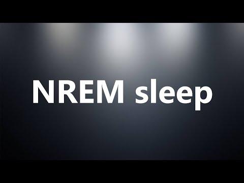 NREM sleep - Medical Definition and Pronunciation