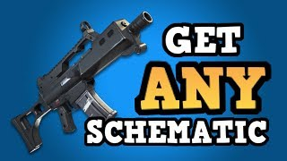 Get ANY Schematic or Hero You Want | Fortnite save the world