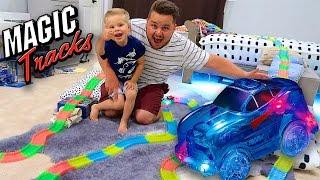 CRAZY MAGIC TRACKS CAR ! - OVER 50 FEET LONG! AS SEEN ON TV