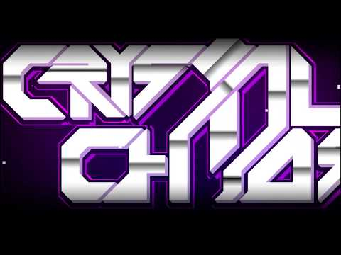 Geometry Dash - Crystal Chaos (All Coins) By: Spa8