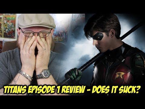 TITANS Episode 1 Review - Does it SUCK?!!!